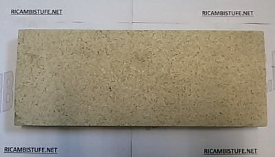 Pannello superiore isolante in vermiculite x caminetto TECH 3