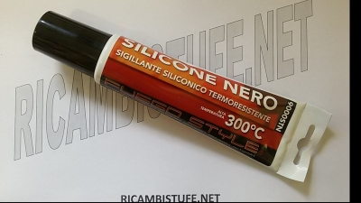 Silicone nero per alte temperature ml. 150